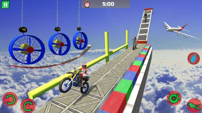 Motocross Obstacle Course 截图